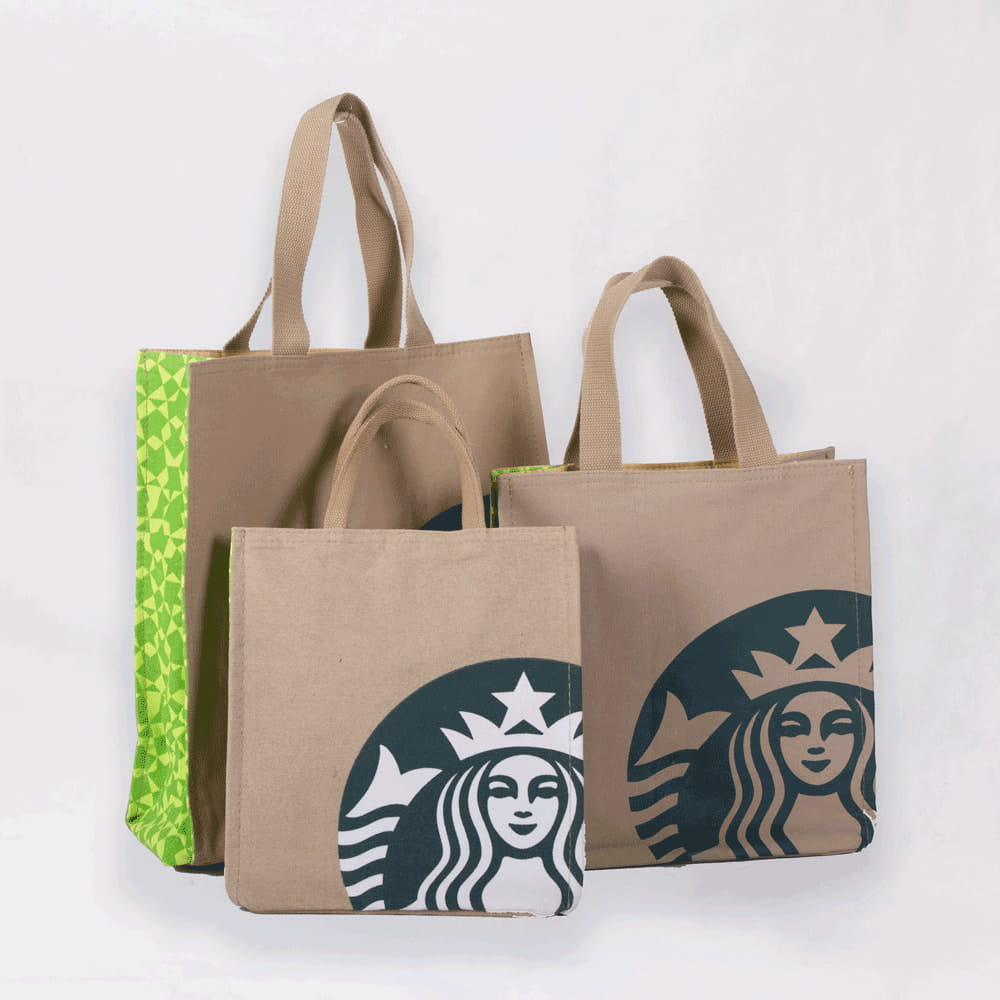 Whole Custom Logo Printed Reusable Eco Friendly Cotton Ping Tote Bags