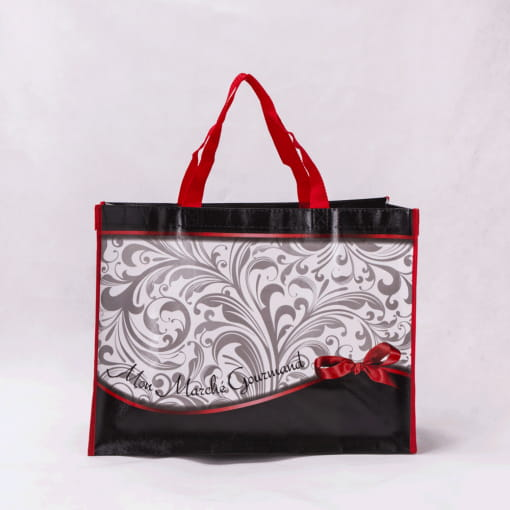wholesale non-woven laminated reusable tote bags 035_01