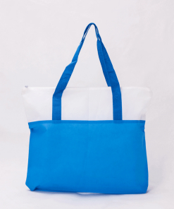 wholesale reusable shopping tote bags with zipper 002_01