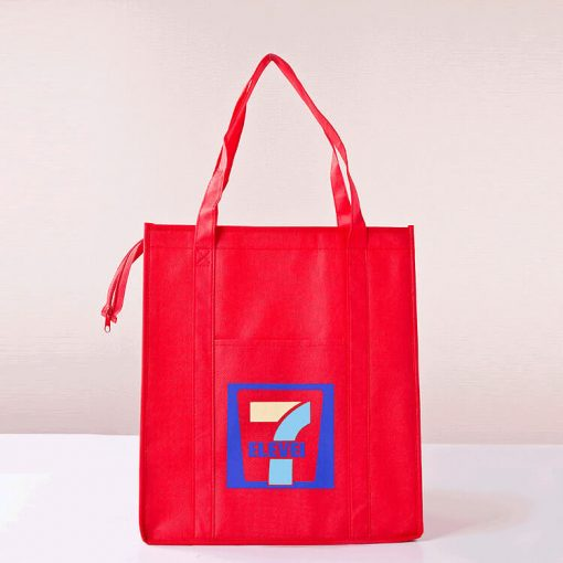 wholesale reusable shopping tote bags with zipper 003_04