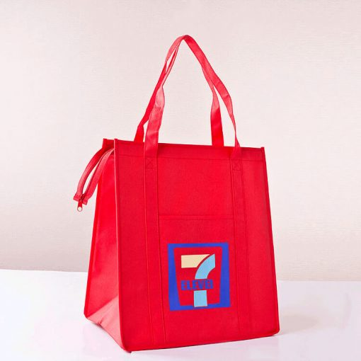 wholesale reusable shopping tote bags with zipper 003_05
