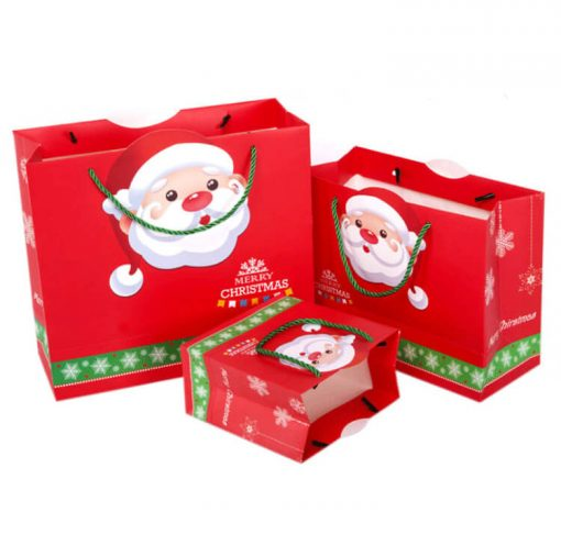 christmas paper bag for gift and shopping 01