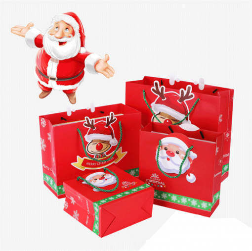 christmas paper bag for gift and shopping 04