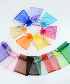 custom drawstring tote organza pouch reusable gift bags 02