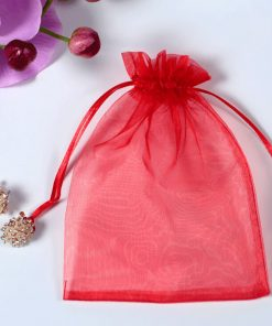 custom drawstring tote organza pouch reusable gift bags 03
