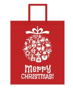 custom non-woven christmas gift reusable shopping bag 01