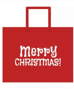 custom non-woven christmas gift reusable shopping bag 05