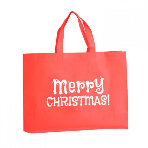 custom non-woven christmas gift reusable shopping bag 07