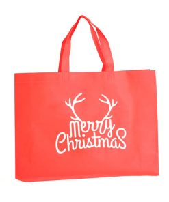 custom non-woven christmas gift reusable shopping bag 10