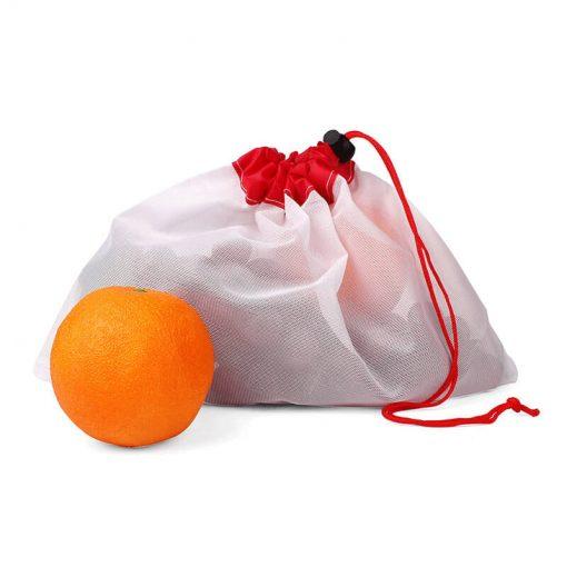 custom produce reusable nylon mesh kitchen fruits food storage bag 03