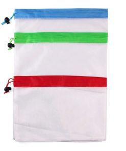 custom produce reusable nylon mesh kitchen fruits food storage bag 05
