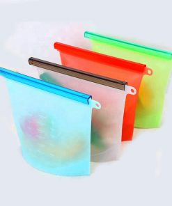 home preservation reusable container silicone food storage bag 01