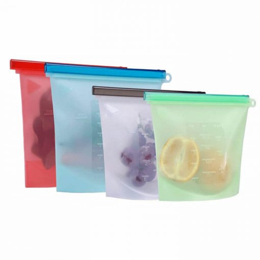 home preservation reusable container silicone food storage bag 02