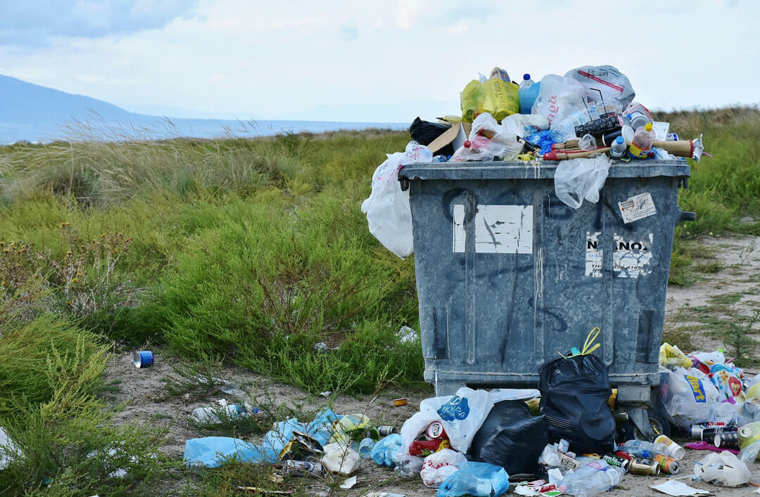 impact of plastic waste on environment