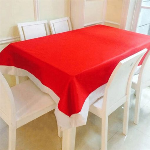 non-woven fabric christmas table cloth 01