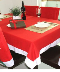 non-woven fabric christmas table cloth 02
