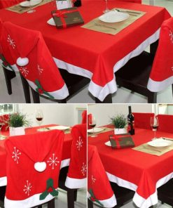 non-woven fabric christmas table cloth 04