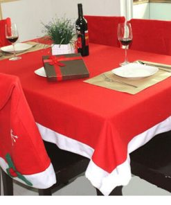 non-woven fabric christmas table cloth 05