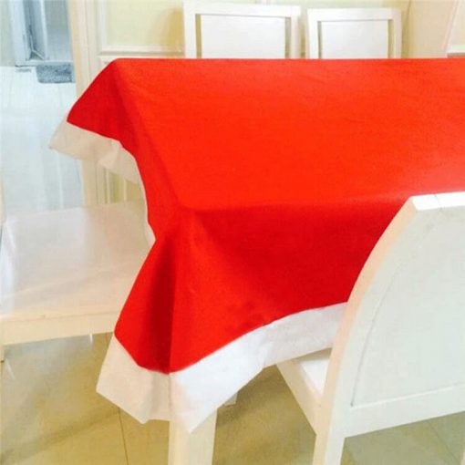 non-woven fabric christmas table cloth 06