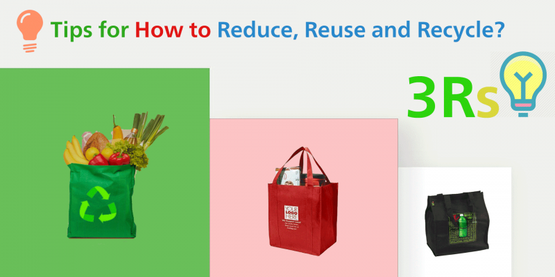tips how to reduce reuse and recycle