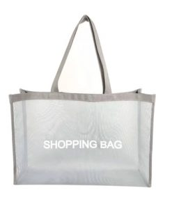 wholesale reusable tote mesh shopping bag nylon mesh beach net bag 08