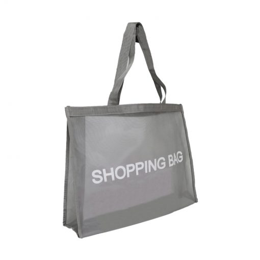 wholesale reusable tote mesh shopping bag nylon mesh beach net bag 09