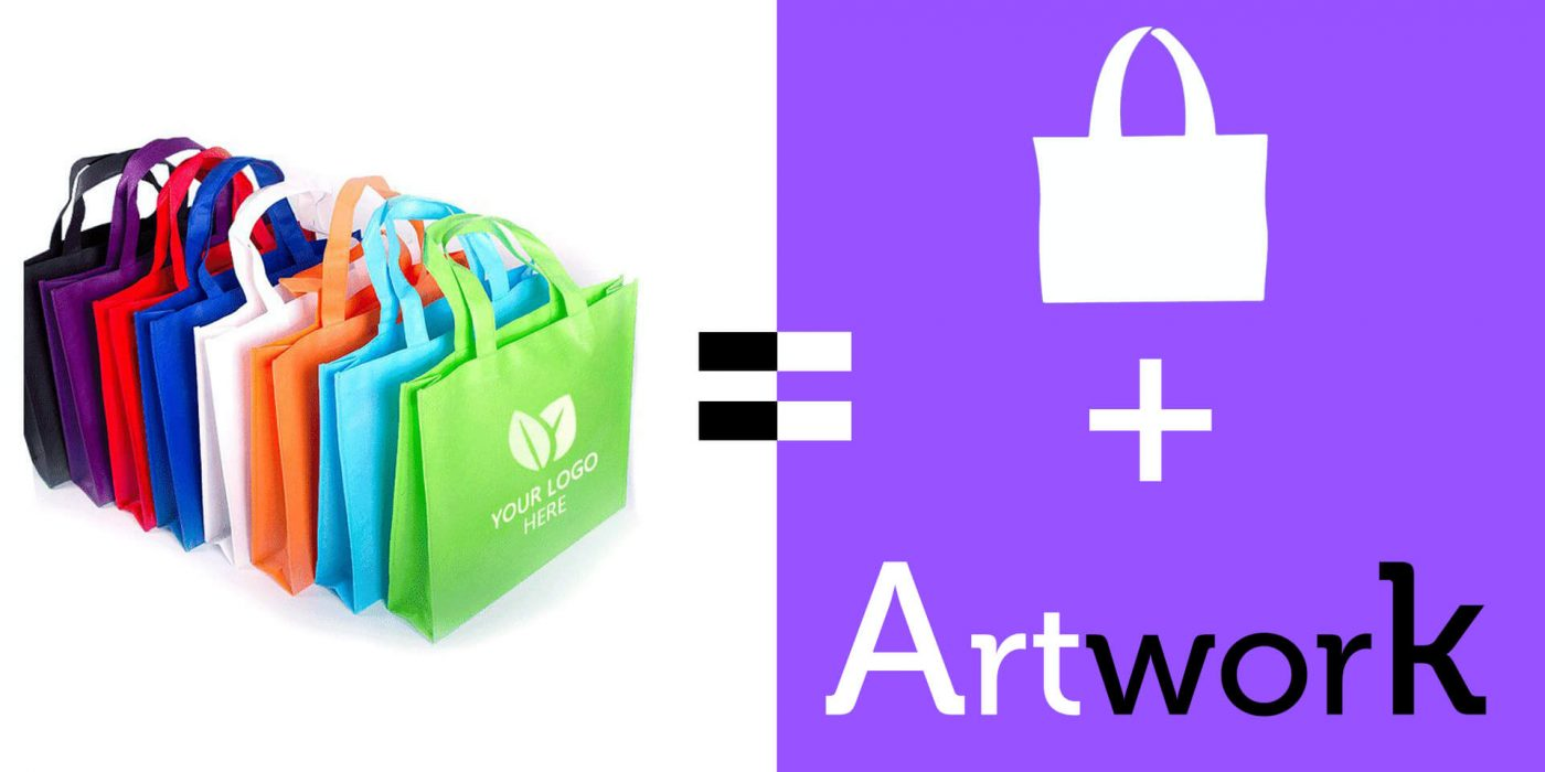 Ideas about how to design reusable bag artwork