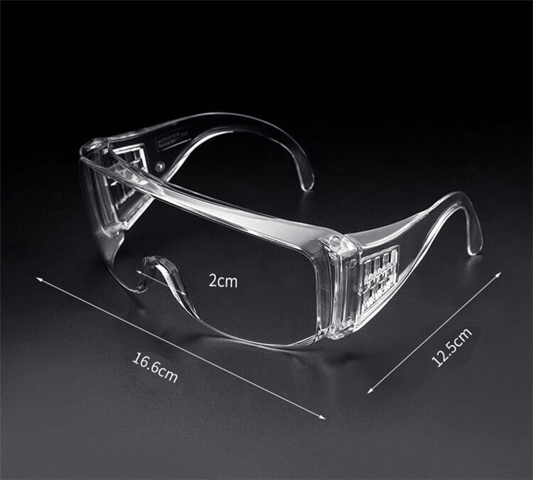 anti-impact anti-virus chemical splash safety goggles protection hospital lab glasses eye protection for medical use 01-01