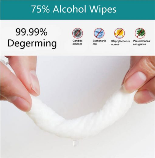 wholesale 75% alcohol antiseptic disinfecting germicidal non-woven wet wipes-001-03