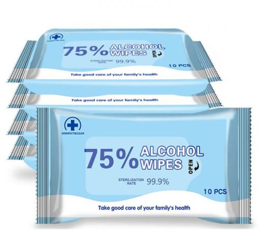 wholesale 75% alcohol antiseptic disinfecting germicidal non-woven wet wipes-001-06