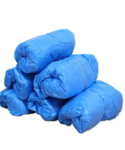 wholesale cleanroom protection blue biodegradable plastic waterproof disposable pe cpe safety shoe cover 01-04