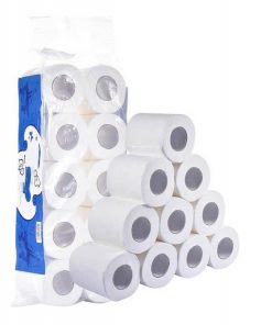 wholesale custom printed factory price standard roll tissue toilet paper with core 01-02