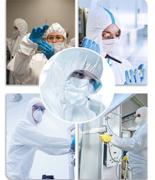 wholesale disposable medical equipment fast shipping hospital full body clothing coverall 01-05