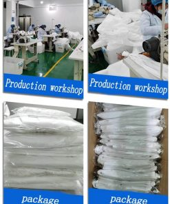 wholesale disposable medical equipment fast shipping hospital full body clothing coverall 01-06