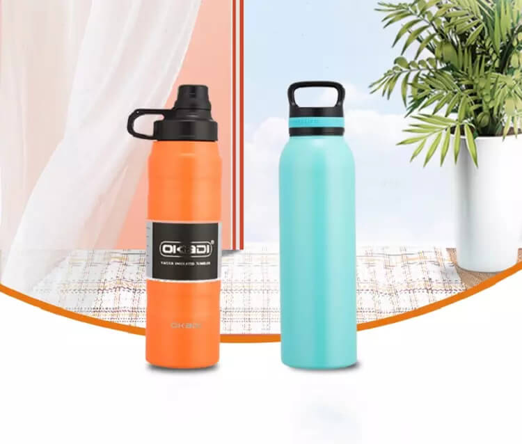 wholesale double wall drink bottle stainless steel vacuum flask water bottle insulated water flask 01-06