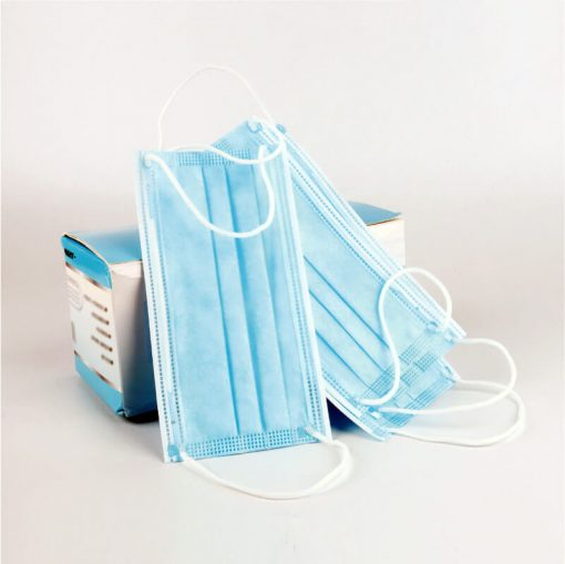 wholesale factory supplier nonwoven fabric medical surgical disposable 3ply filter face masks 00-01