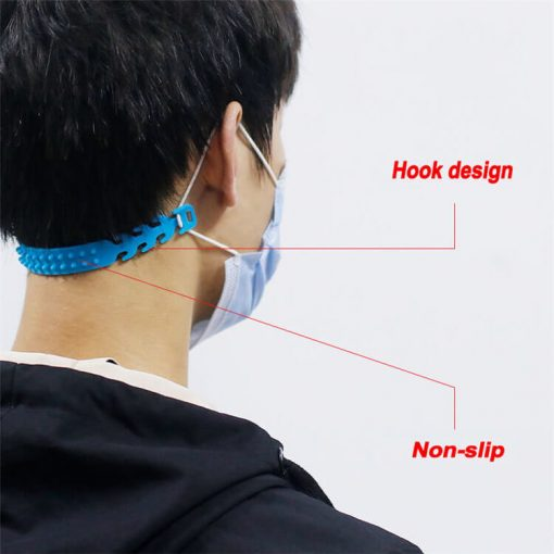 Wholesale Face Mask Ear Band Extension Hook 4-Gear Adjustable Face Cover Plastic Portable Ear Rope Accessory Anti-Slip Grip Buckle For Mouth Cover 04